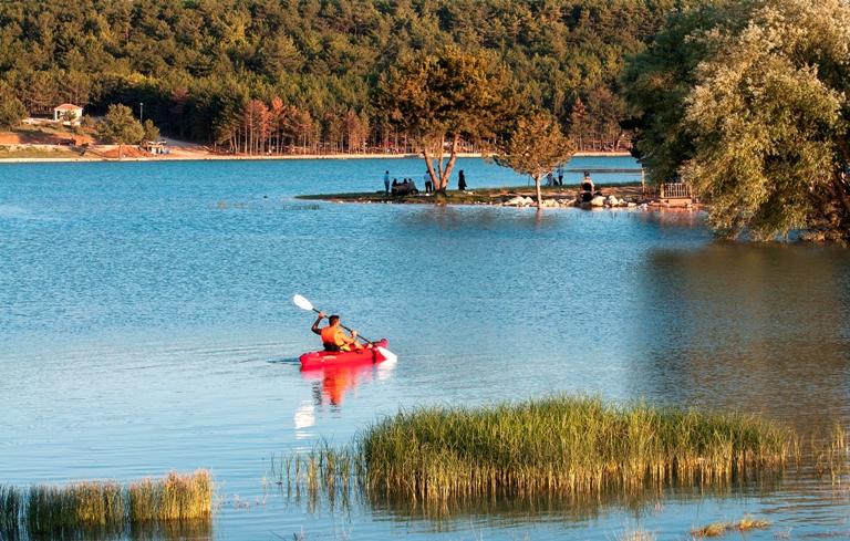 Su Sporları Pelitözü Göleti Bilecik Merkez